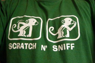 Monkey Scratch and Sniff T-shirt